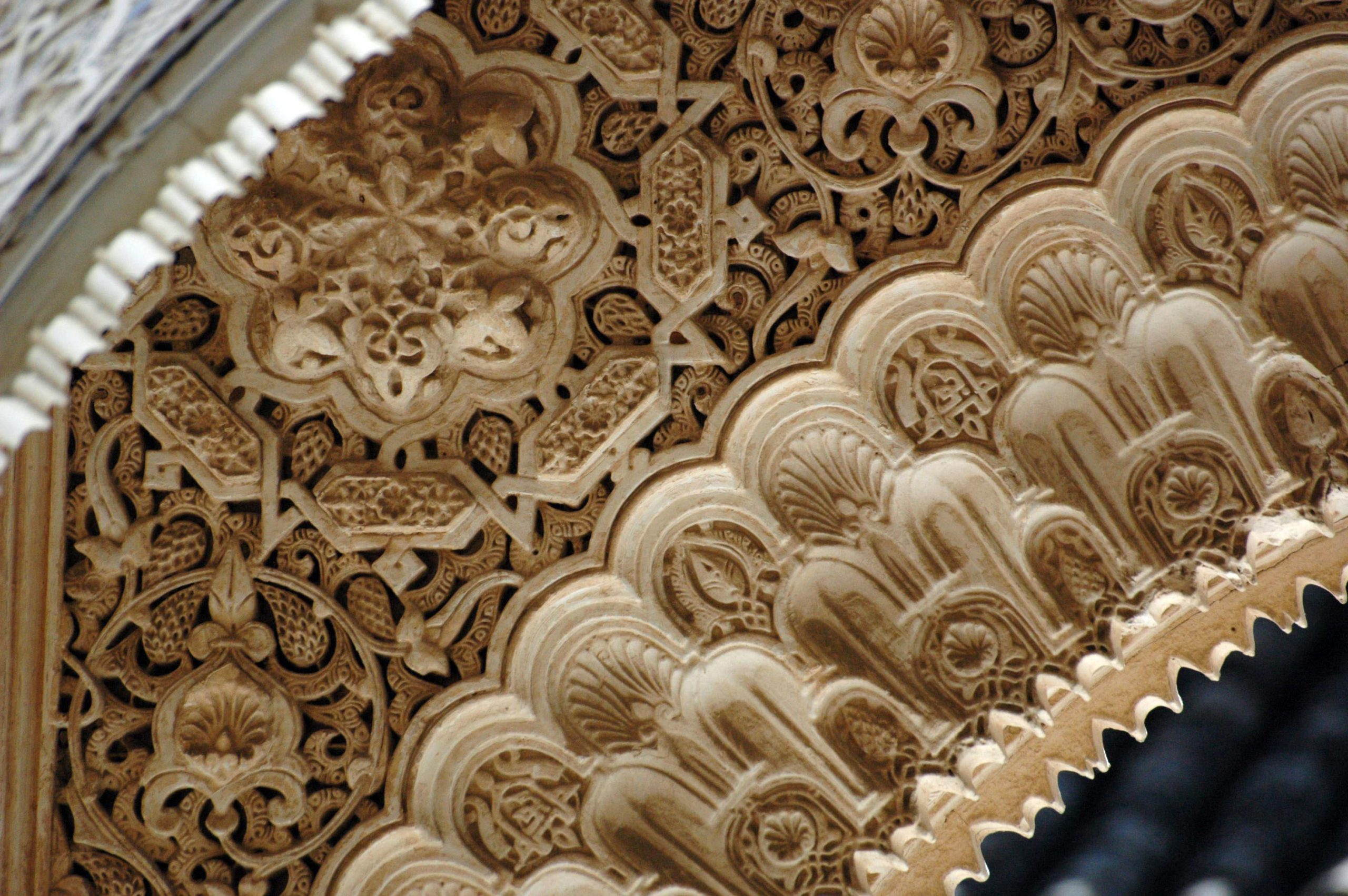 Atauriques scaled - wood-carving